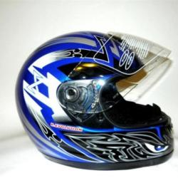 CASCO INTEGRALE JFM REVOLUTION BLU Eyes - 64152