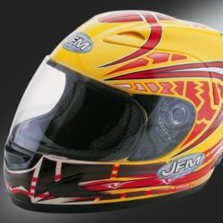 CASCO integrale BABY DRIVER Graphic Yellow taglia YS - 140GGS