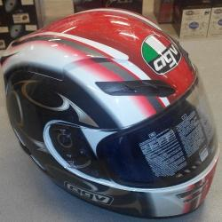 CASCO INTEGRALE AGV Stealth Dragon Rosso XL